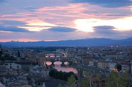 Piazzale Michelangelo: What a view!, Frances - October 2010