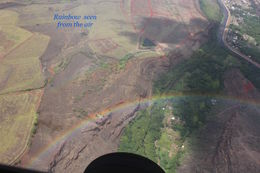 Rainbow seen from the airtour Airvantures , TUYETDONG P - August 2016