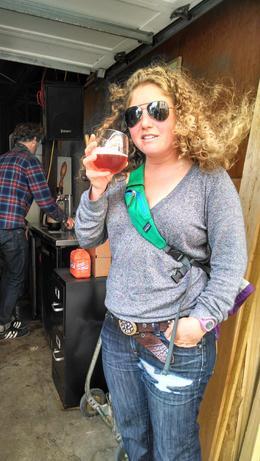 Enjoying a yummy beer, Viator Insider - June 2014