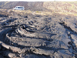 """We stopped for a Sunset Dinner at the end of the """"Chain of Craters"""" road, Travel61 - December 2011"""