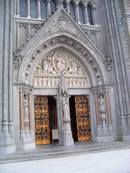 The front doors of St. Colman's Cathedral, Cobh , Susan G - May 2011