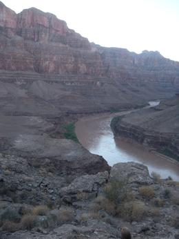 Picnic overlooking the Colorado River, JennyC - November 2010