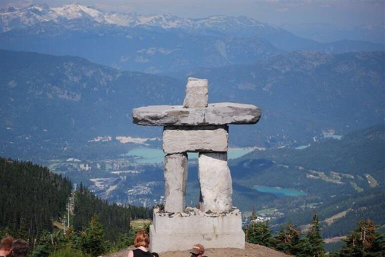 Top of Whistler Mountain - Vancouver