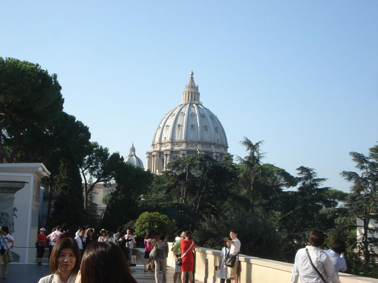 View of St. Peters - Rome