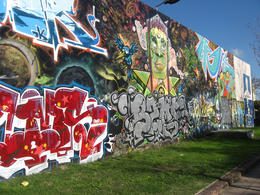 A wall in Buenos Aires., Bandit - October 2012