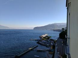 View from our hotel room in Sorrento at sunrise , patrickuhler - November 2016