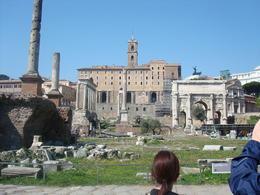 Roman Forum , Jessica W - March 2012