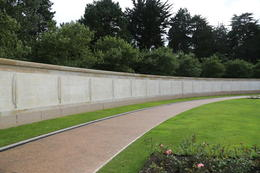 A view of a portion of The Wall of the Missing, the panels of which contain over 1,500 names. , John C - September 2012