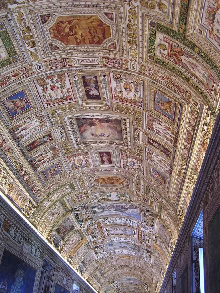 Amazing Ceiling Frescos - Rome