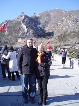 At the foot of the Great Wall, Linda S - January 2010