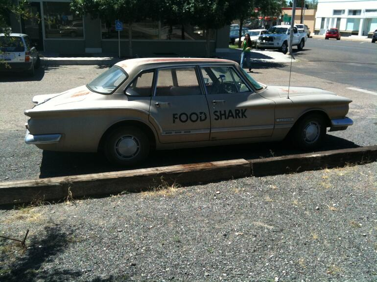 Food Sharks -backup car! - Texas