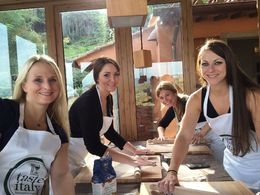 This tour was by far our favorite on our girls trip! Hand making our noodles for our dinner. , Danielle G - October 2015