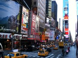 Times Square from the Top Deck, Elizabeth M - December 2010