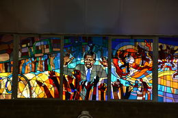 Beautiful stained glass , Theresa R - July 2015