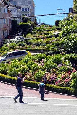 Lombard Street, Jules & Brock - July 2012