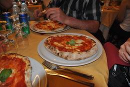 Large, individual pizzas! , Richard K - May 2015