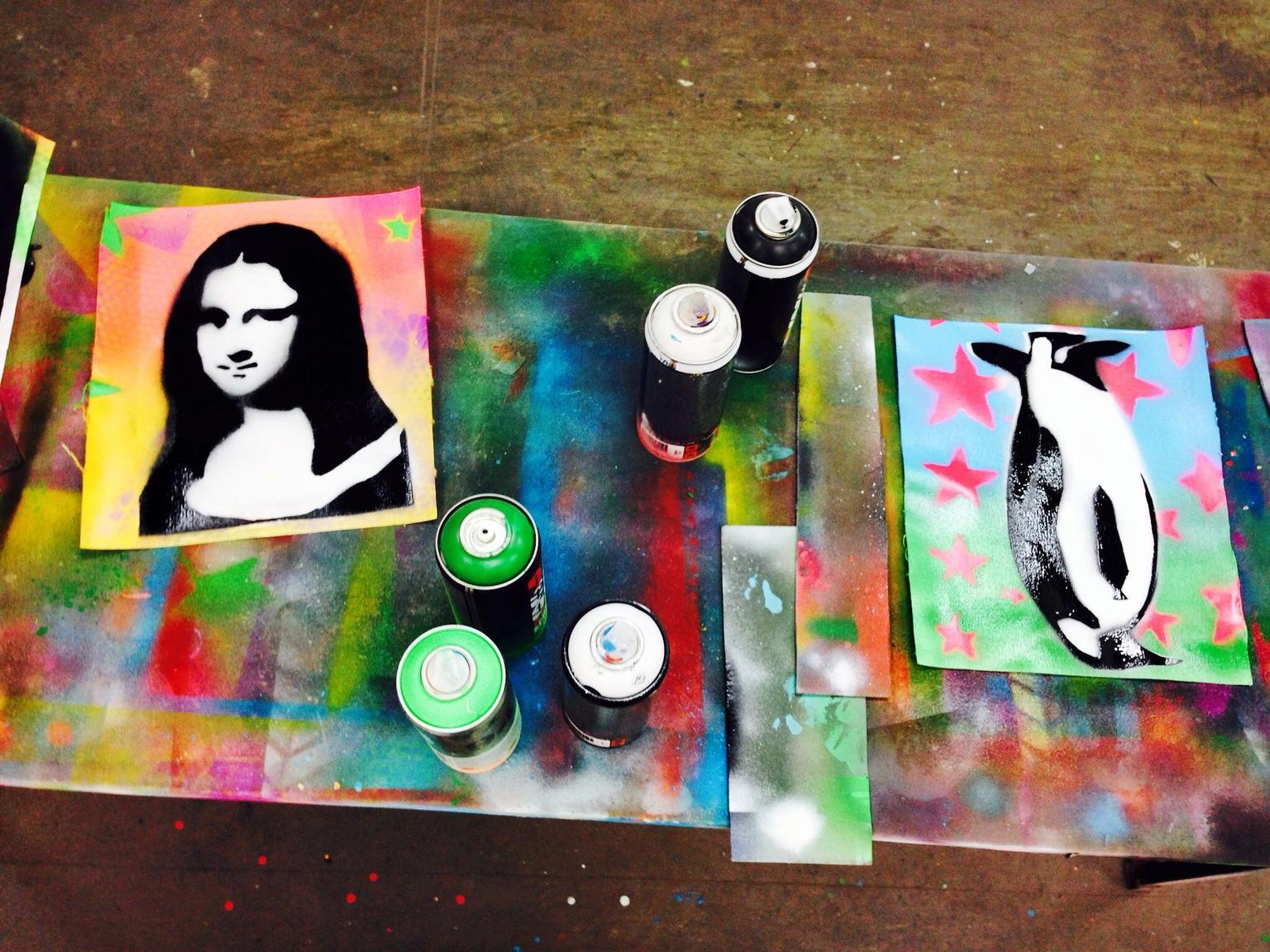 MAIS FOTOS, Excursão sobre Arte de Rua e Workshop de Grafite para grupos pequenos em Berlim