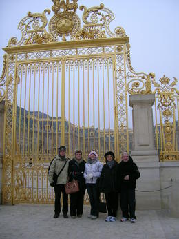 A very cold day at Versailles. , Philip C - February 2011