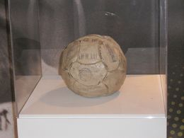 The ball used to score Pele's 1,000th goal. , Christopher M - June 2015
