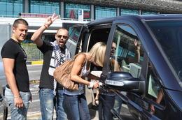 Séjour à ROME. Embarquement de la petite famille et des bagages sans perdre un instant. , Albert T - June 2013