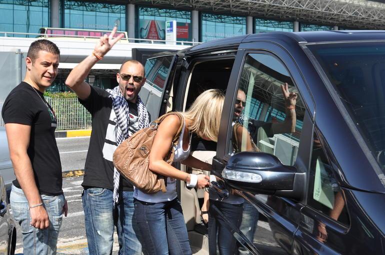 ROME. Le chauffeur �tait pr�sent au rendez-vous !!! - Rome