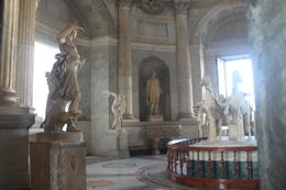 Inside vatican museum , Lauren C - October 2014