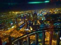 view from the Burj Khalifa , carl H - May 2016