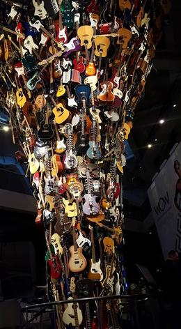 Guitar Tower at EMP Museum , Amber H - October 2016