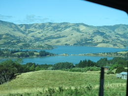 Just some of the scenery on the drive from Akaroa to Christchurch , Catherine F M - March 2017