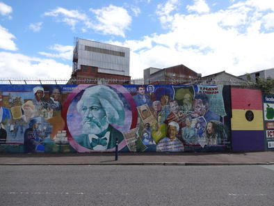 Belfast mural tour with photos belfast for Belfast mural tours