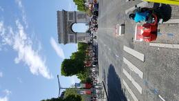 Arc de Triomphe on Ave. de Champs , James M - August 2017