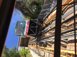 The funicular to take us down to street level , Julie S - December 2017