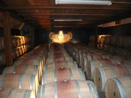 Wine barrels at the second wine estate, AlexB - July 2012
