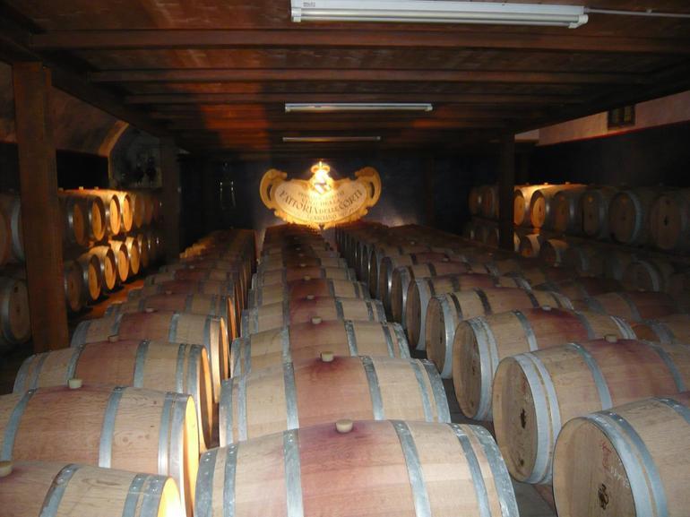 Wine Barrels - Florence