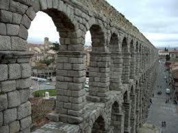 espectacular vista del acueducto de Segovia , Jorge C - March 2013
