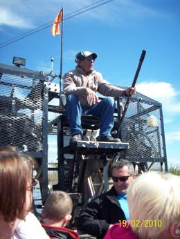 The airboat ride is so much fun., Ann L - March 2010