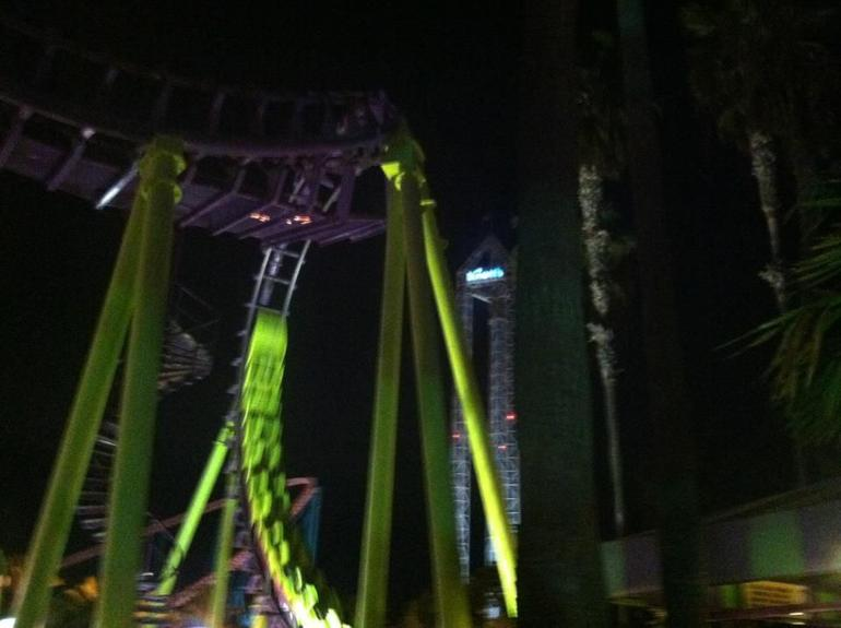 Boomerang ride - Los Angeles