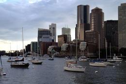 Boston Sunset Cruise, Jules & Brock - July 2012