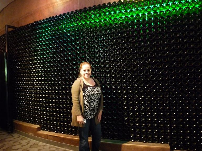 Chandon Wine Wall - Napa & Sonoma