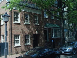 Some of the homes in old town Alexandria. , sj - April 2012