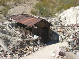 The entrance to the mine., Alan D M - September 2008