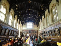 Christ Church College- Dining Commons- Oxford This hall was used in the first two Harry Potter movies., Holly N - July 2010