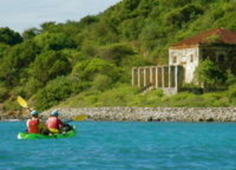 Kayaking near Hassel Island - St Thomas