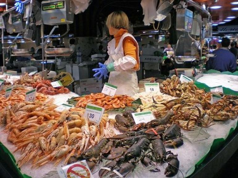 La Boqueria Markets, Barcelona - Barcelona