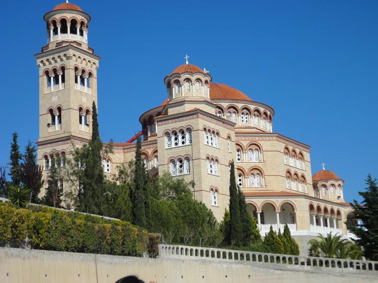 Monastery in Egina - Athens
