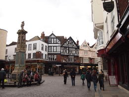 The quaint town of Canterbury, Rachel - March 2014