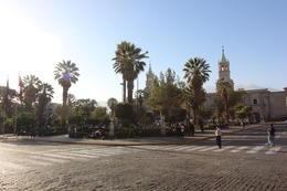Plaza de Armas in Arequipa, Bandit - July 2014