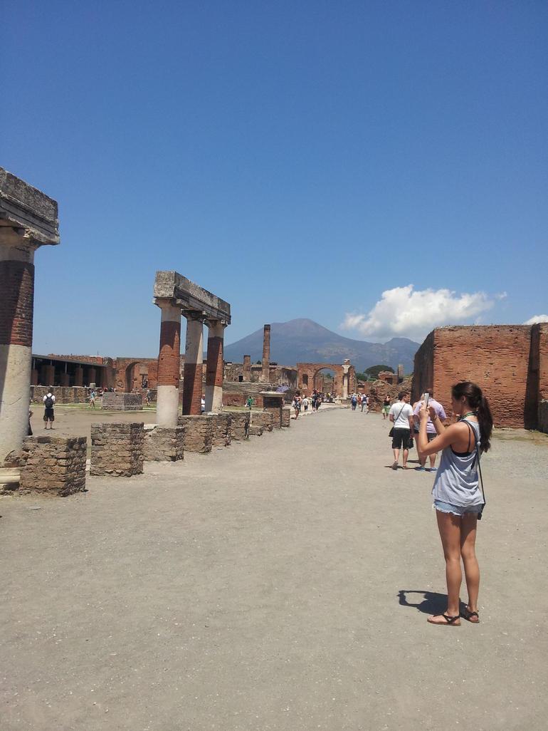 Pompai-Vesuvio - Rome