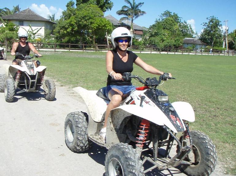 ATV Safari, Ocho Rios - Riding the Trails - Ocho Rios