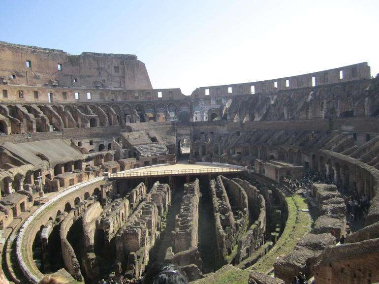 Rome Colosseum Half-Day Walking Tour - 2012 - Rome